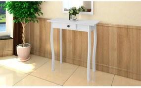 Fehér mdf tálalóasztal
