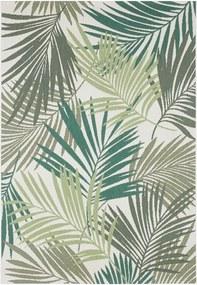 Vai zöld-szürke kültéri szőnyeg, 80 x 150 cm - Bougari