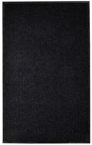 Fekete pvc lábtörlő 160 x 220 cm