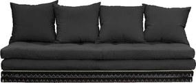 Chico Dark Grey sötét szürke kinyitható kanapé - Karup Design