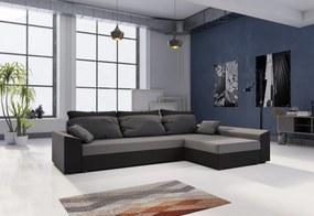 PAMELA ágyázható sarok ülőgarnitúra, 245x85x140, mikrofázis 27/15, jobb