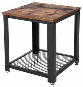 Rácsos kis asztal 45x45x55 cm