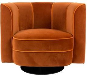 Flower narancssárga fotel - Dutchbone
