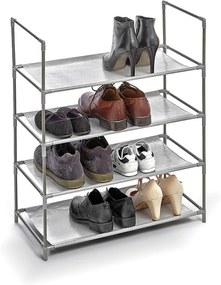 Living cipőtartó négy polccal - Domopak