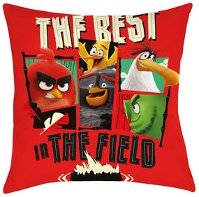 Angry Birds Movie 2 The Field párna, 40 x 40 cm