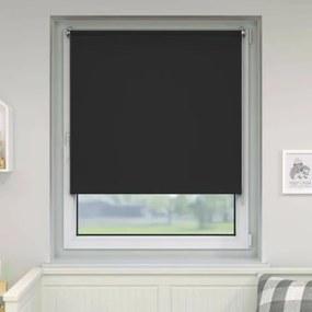 Victoria.M sötétítő mini roló 60×150 cm, fúrás nélkül, fekete