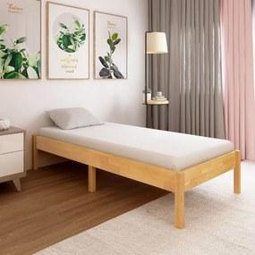 Tömör tölgyfa ágykeret 100 x 200 cm