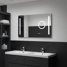 LED-es fürdőszobai tükör érintésérzékelővel 100 x 60 cm