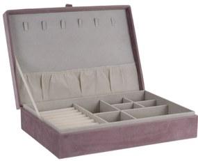 Secret cabinet ékszertartó doboz, rózsaszín