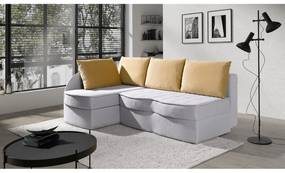 TUSKO ágyazható sarok ülőgarnitúra, 79x203x143, lotus10/ kronos 11, balos