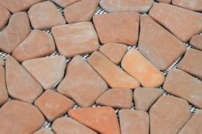 Mozaik burkolat DIVERO® 1db - márvány, terrakotta
