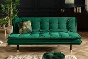 MAGNIFIQUE design kanapé - 184cm - zöld