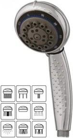 9 funkciós zuhanyfej, Stop állással