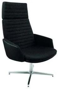 Mister relaxációs fotel, fekete