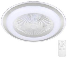 BRILAGI Brilagi - LED Dimmelhető lámpa ventilátorral RONDA LED/65W/230V ezüst BG0233