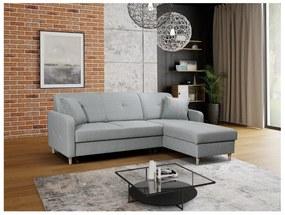 FOSIE sarok kanapéágy, 220x88x162, hugo 10, jobb sarok