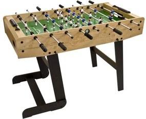 Asztali foci összecsukható BELFAST 121 x 101 cm - világos