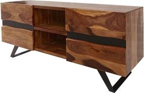 AMAZONAS barna rózsafa TV szekrény 160x45x63