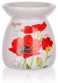 Banquet Red Poppy kerámia aromalámpa