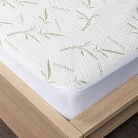 4Home Bamboo körgumis matracvédő, 90 x 200 cm + 30 cm, 90 x 200 cm
