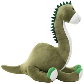 vidaXL zöld brontoszaurusz (dinoszaurusz) plüssjáték
