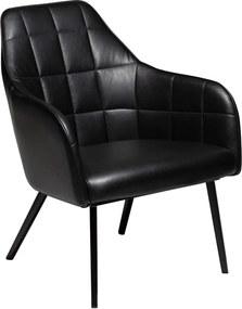 Embrace fekete öko bőr fotel - DAN–FORM Denmark