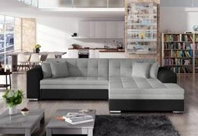 PALERMO ágyazható sarok ülőgarnitúra, 294x80x196 cm, sawana21/madryt14, jobbos