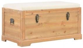MDF tárolóláda párnával 80 x 40 x 40 cm