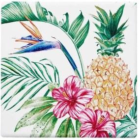 KIRIBATI poháralátét, ananász