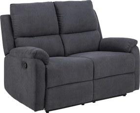 Luxus kettes fotel Nyx sötét szürke