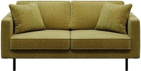 Kobo olívazöld kanapé, 167 cm - MESONICA
