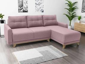 Focus Rózsaszín sarok ülőgarnitúra Orange, jobbos