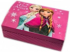 Disney Jégvarázs ékszertartó doboz pöttyös 19cm