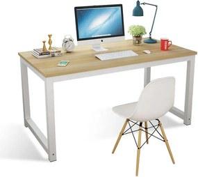 Aldabra HWD12060 íróasztal, irodai asztal, világos színben