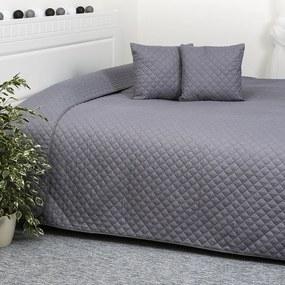 4Home Orient szürke ágytakaró, 220 x 240 cm, 40 x 40 cm