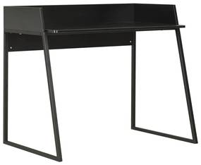vidaXL fekete íróasztal 90 x 60 x 88 cm