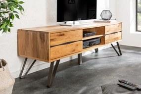 Stílusos TV asztal Fringe 160 cm vad tölgy