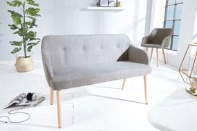Stílusos ülőpad Sweden világos szürke