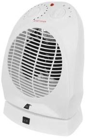 ISO Forró levegős ventilátor 2000W fehér, 11006