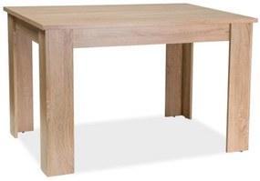 étkező Asztal ALVA, 120x75x80, sonoma tölgy