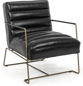 BRIANNA fekete fotel