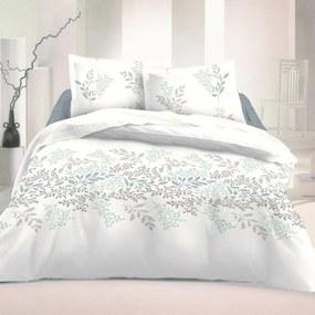 Kvalitex Victoria pamut ágynemű, fehér, 140 x 200 cm, 70 x 90 cm, 140 x 200 cm, 70 x 90 cm