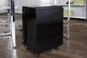 BIG DEAL fekete gurulós irodai tároló