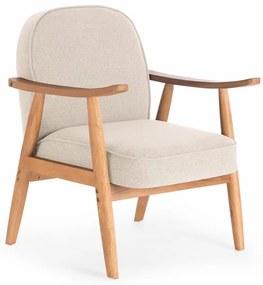 Bézs fotel RETRO