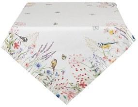 Asztalterítő pamut tavaszi mintával / 130*180 cm