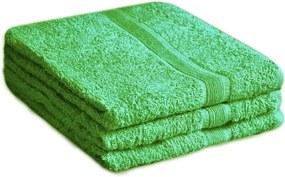 Soft zöld fürdőlepedő