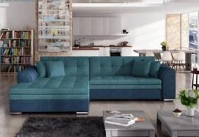 PALERMO ágyazható sarok ülőgarnitúra, 294x80x196 cm, orinoco 85/orinoco 80, balos